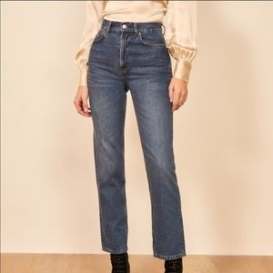 REFORMATION Cynthia High Relaxed Jean Teton
